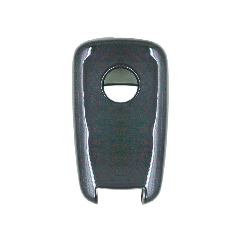 SEGADEN TPU Soft Case Shell Cover Protector Holder fit for BUICK CHEVROLET Remote Flip Key Fob 2 3 4 5 Button SV7650 Black