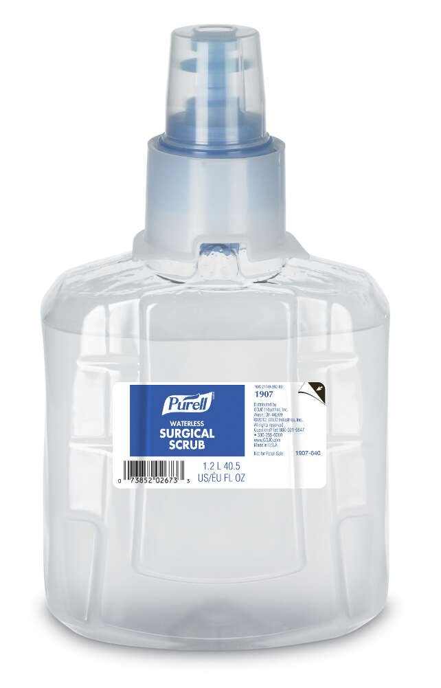 PURELL Surgical Scrub Waterless Liquid 1200ml, 1907-02 (1 Per Pack) by Purell