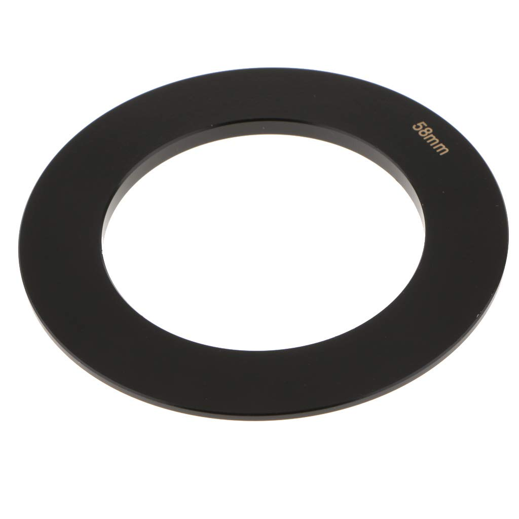 KESOTO Filtro Anillos Adaptador de Lentes Utilizando para Cokin C/ámara de Serie P Lentes Negro 72mm