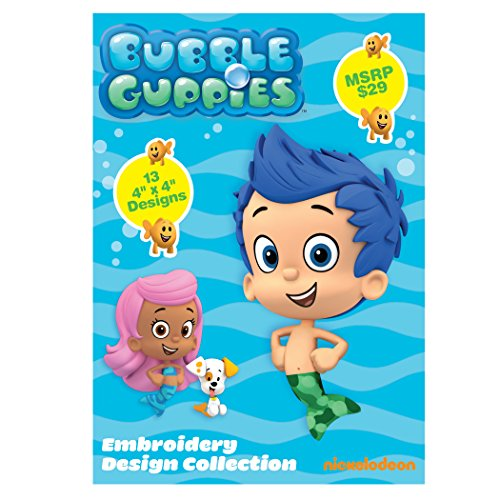 Nickelodeon SANICKBG Bubble Guppies Embroidery Design Collection CD (Brother Embroidery Cds compare prices)