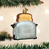 old world kitchens Old World Christmas Retro Toaster Glass Blown Ornament