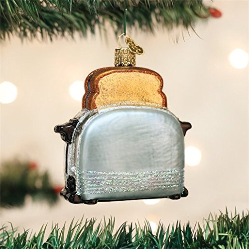 Old World Christmas Retro Toaster Glass Blown Ornament