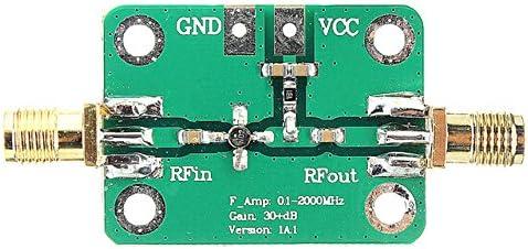 32dB 2Ghz 1-2000MHz Low Noise LNA RF Broadband Amplifier Module HF VHF UHF
