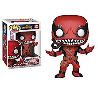 Funko POP! Games: Marvel - Contest of Champions - Venompool Collectible Figure, Multicolor, Standard