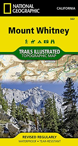 Mount Whitney (National Geographic Trails Illustrated Map)