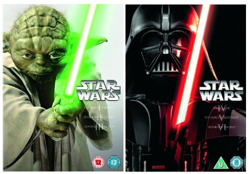 The Complete Star Wars Episodes 1 - 6 DVD [6 Discs] Collection: 1: The Phantom Menace / 2: The Attack of the Clones / 3: Revenge of the Sith / 4: The New Hope / 5: The Empire Strikes Back / 6: The Return of the Jedi