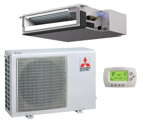 9 000 btu h 15 seer mitsubishi single zone mini split heat for 18000 btu heat pump window unit