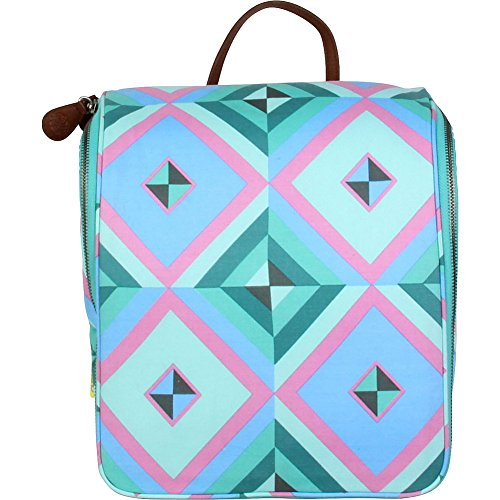 Amy Butler for Kalencom Sweet Traveler Toiletry Kit (Sky Pyramid/Azure) by Amy Butler