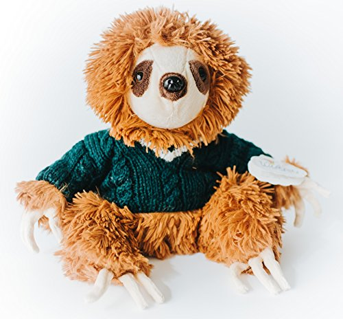 Wishpets Plush 14&Quot; Hipster Sloth With Sweater -
