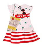 mini shatsu - Mini Shatsu Little Girl Mermaid Off Duty Dress White (2T)