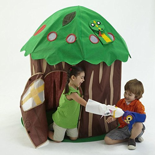 Puppet Tree Play Structure Play Tent Kids Indoor Outdoor Playhouse by Bazoongi