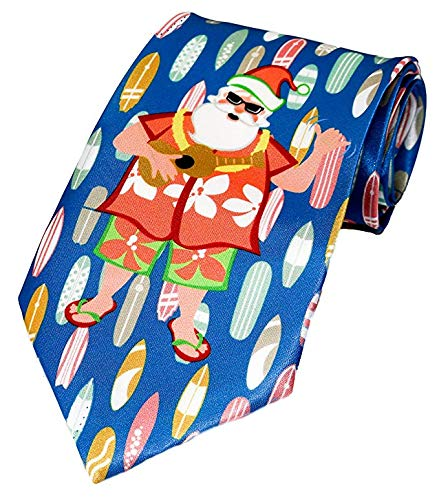 Deluxe Christmas Musical Ties (1 Tie, Hawaii Christmas)