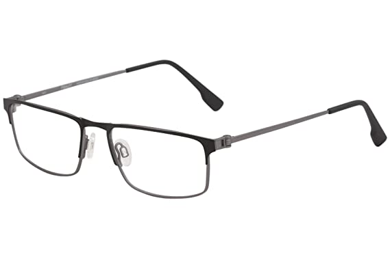 084d022f9c Eyeglasses FLEXON E 1075 001 BLACK GUNMETAL at Amazon Men s Clothing ...