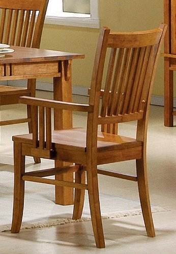 Lincoln arm chair by Coaster (Set of 2) by Coaster Home Furnishings
