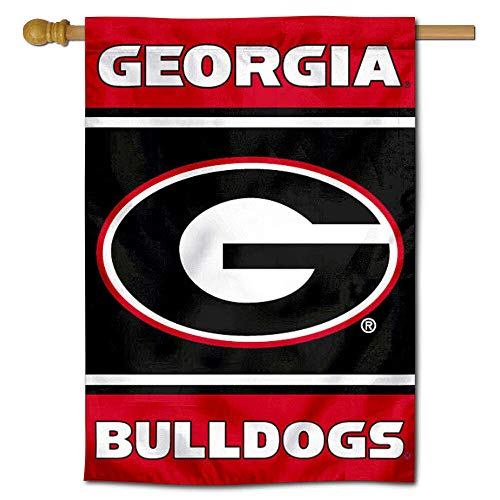 Georgia Bulldogs G Two Sided and Double Sided House Flag