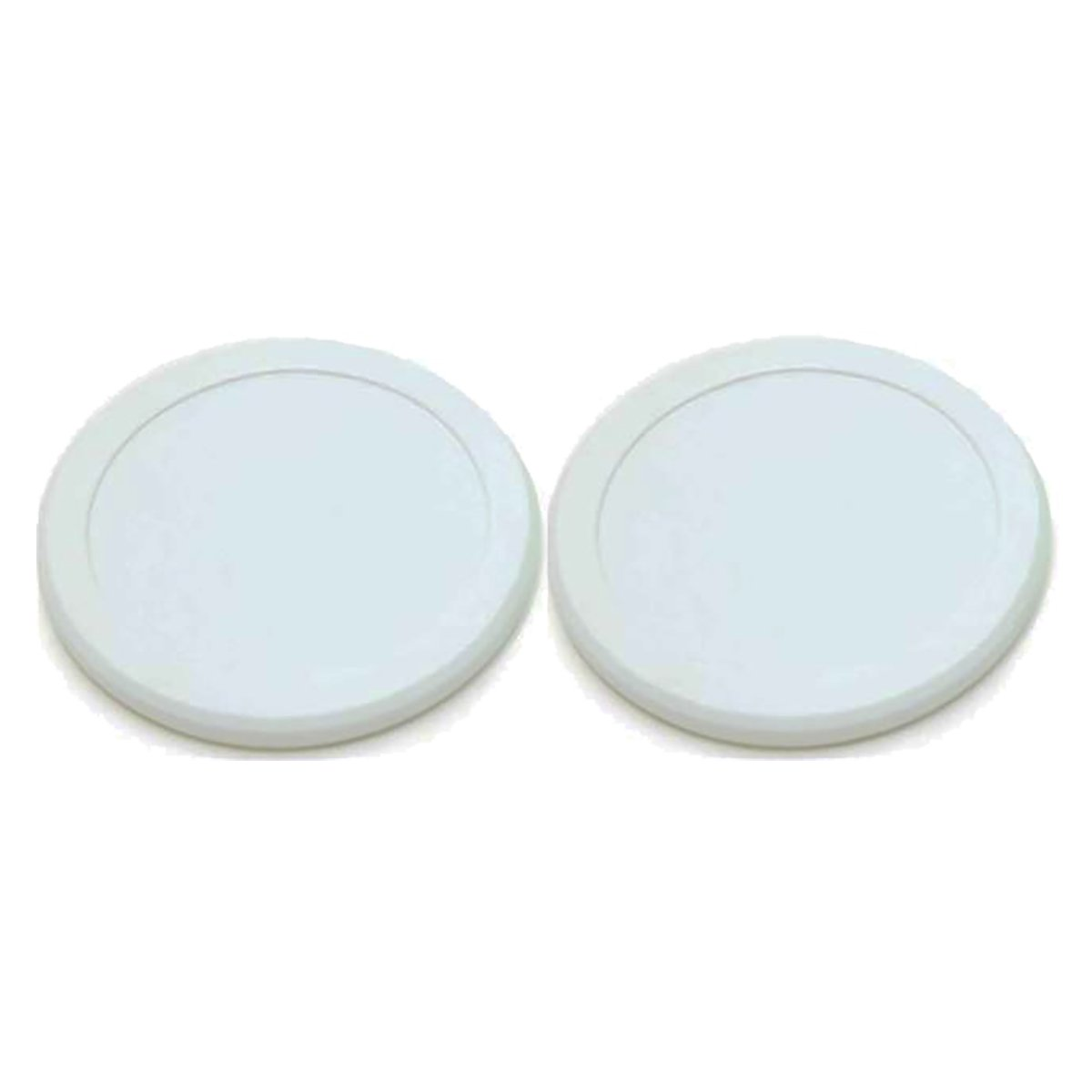 Valley-Dynamo 2-1/2'' Quiet White Air Hockey Puck Set by Valley-Dynamo