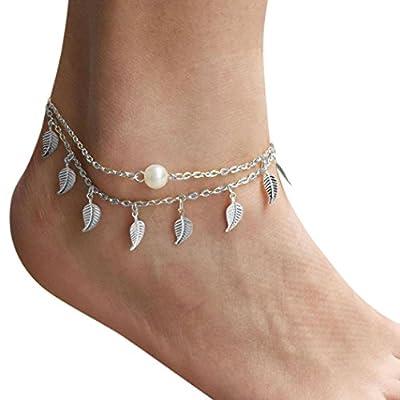 Sandistore Women Anklet Ankle Bracelet Beach Foot Jewelry SL