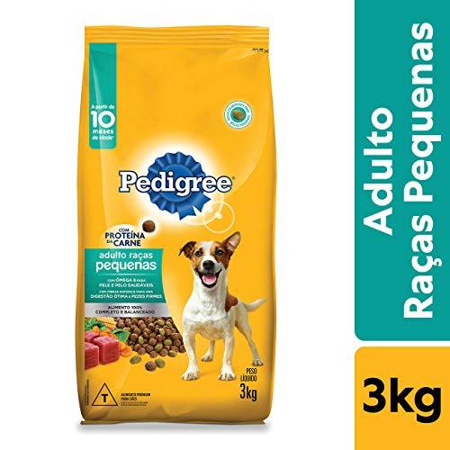 Ração Pedigree Para Cães Adultos Raças Pequenas 3 kg