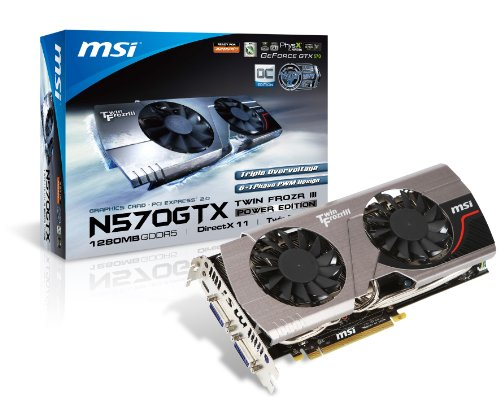 Photo - MSI N570GTX Twin Frozr III Power Edition/OC Graphics Card
