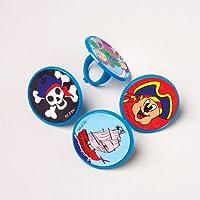 Anillos de juguete pirata de los Estados Unidos /48 pzas
