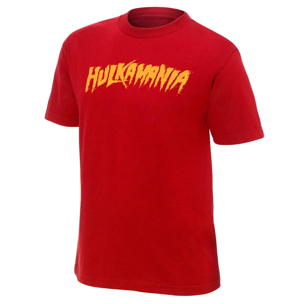 WWE Hulk Hogan Hulkamania Red Authentic T-Shirt