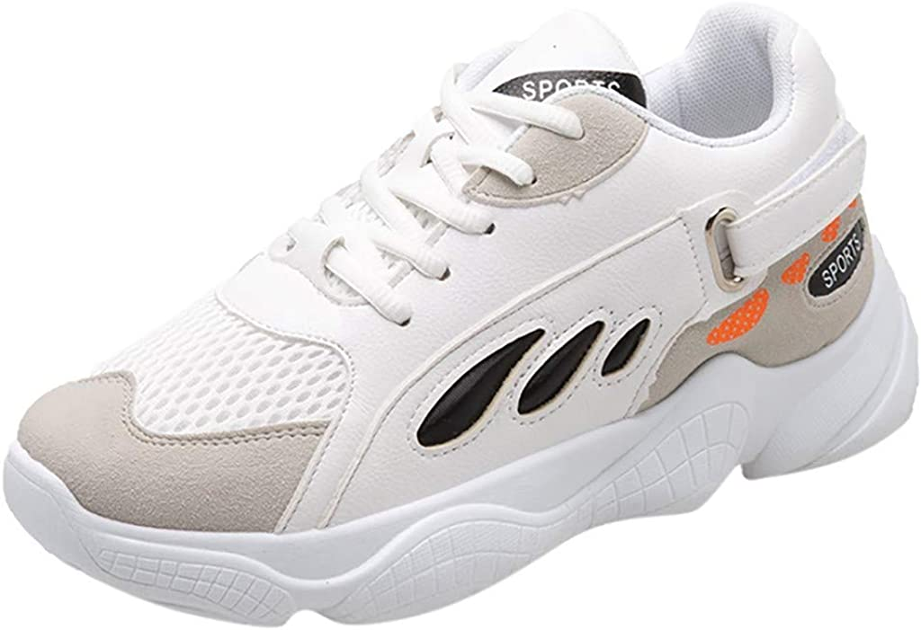 OHQ Zapatillas Deporte De Running Mujer con Cordones Calzado ...