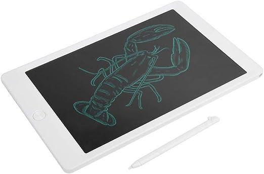超薄型ライティングタブレット、耐久性のあるメモ帳、LCDタブレット、メモ用メモ用アポイントメントリマインダー子供用絵(white)