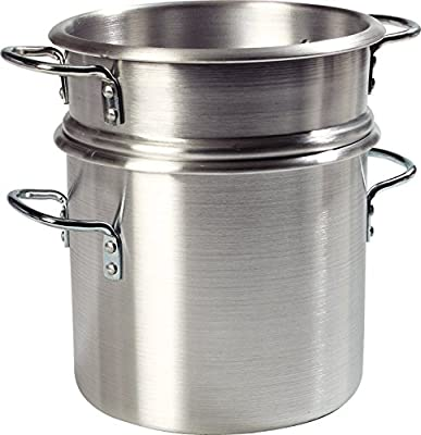 Carlisle Commercial Grade Aluminum Double Boiler with Insert
