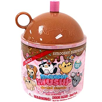 Smooshy Mushy Series 2 Do-Dat Donuts : Amazon.com: Smooshy Mushy Surprises Smooth & Squishy Scented JUG - Colors will vary: Toys & Games