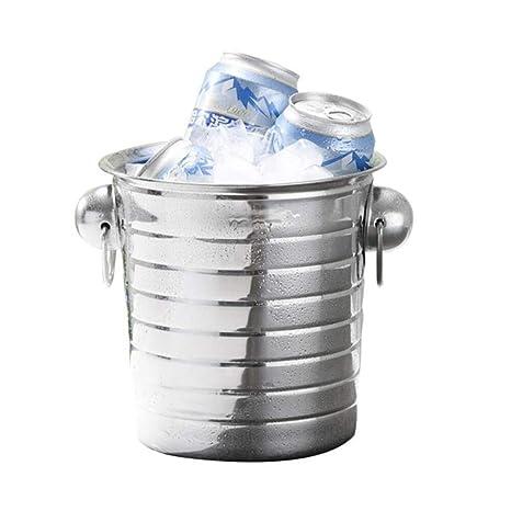 Compra GLLL-Ice Bucket Cubo De Hielo, Acero Inoxidable ...