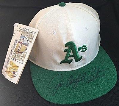 Jim Catfish Hunter d. Hall of Fame 1987 LOA Signed Hat Oakland Athletics HOF - JSA Certified - Autographed Hats