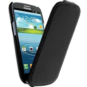 So Axess HOUSGI9300SAN - Funda con tapa ultrafina para Samsung Galaxy S3 i9300, color negro
