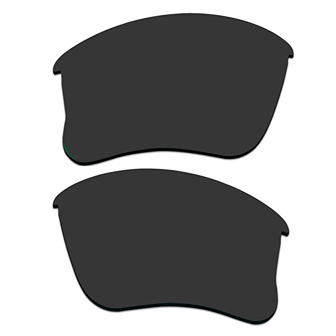 Replacement Lenses for Oakley Flak Jacket XLJ Sunglasses With Polarized  (Black) 09146a7365a