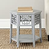 Safavieh American Homes Collection Zelda Pearl Blue Grey End Table