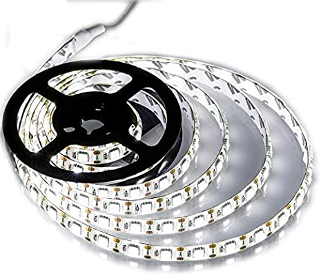 new styles c25b9 b6c80 Battery Powered Led Strip Lights,Geekeep Waterproof Flexible LED Light  Strips SMD 5050 LED Ribbon Light Mood Light (2M/6.56ft, Cool White)