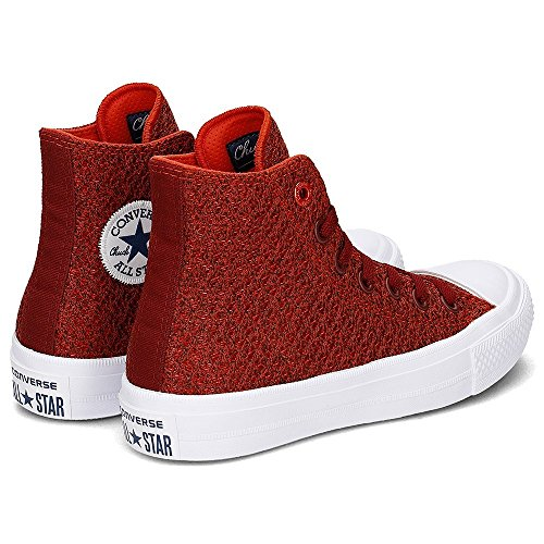Converse Chuck Taylor All Star Ii High Donna Sneaker Rosso