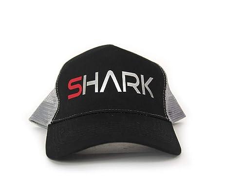 Gorra Shark SH7010 (Negra/Blanca)