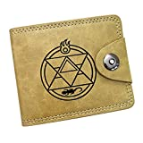 Gumstyle Fullmetal Alchemist Anime Cosplay 10 Slots Bifold Wallet Card Holder Purse 3