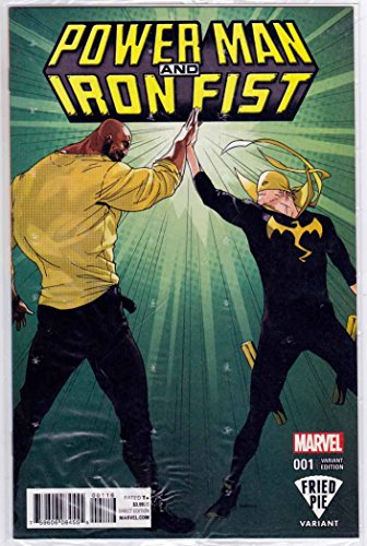 Power Man And Iron Fist #1 (2016) Fried Pie Variant