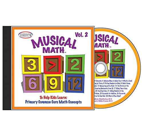 Musical Math: Volume 2 CD
