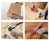 3M Comfort Grip Nitrile Foam Work Gloves, Super