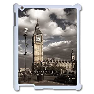 Best Phone case At MengHaiXin Store London Big Ben Pattern 302 For Ipad 2/3/4 Case