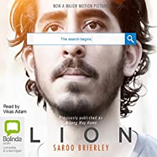 Lion: A Long Way Home Audiobook by Saroo Brierley Narrated by Vikas Adam