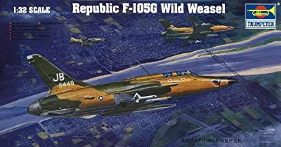 Trumpeter 1/32 F105G Thunderchief Wild Weasel Aircraft