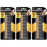Pilha Alcalina AAA 16 unidades Duracell