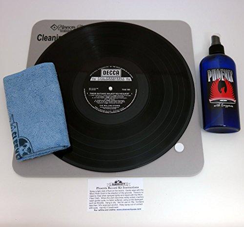 Phoenix Deluxe Record Cleaning Vinyl