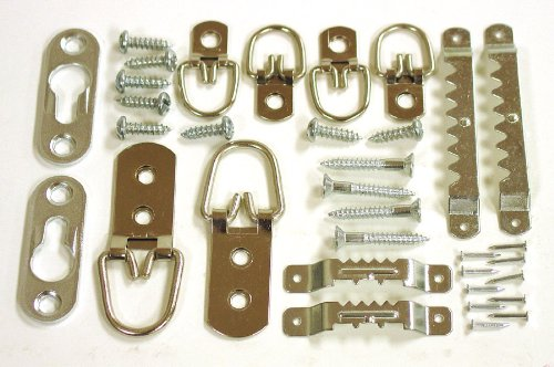 ook 59242 32 piece assorted frame back kit picture hanging hardware amazoncom