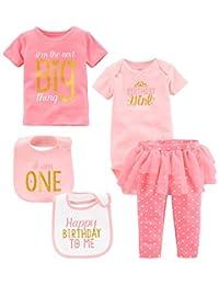 Simple Joys by Carter's Girls' 5-Piecemy 1st Birthday Set