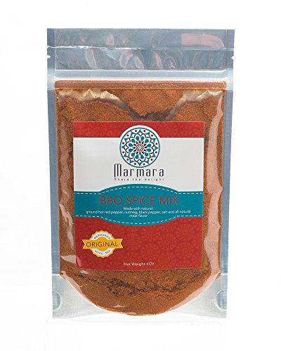 BBQ Seasoning rub Marmara pure spice mix no preservatives 2 pack 4 ounce each