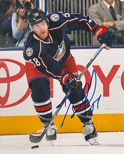 David Savard Signed Photo - 8X10 COA B - Autographed NHL Photos